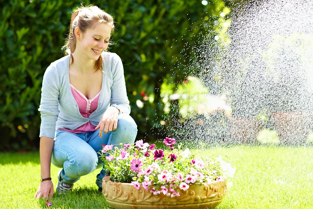 Wasser und Genuss im Sommergarten [BVE Foto]